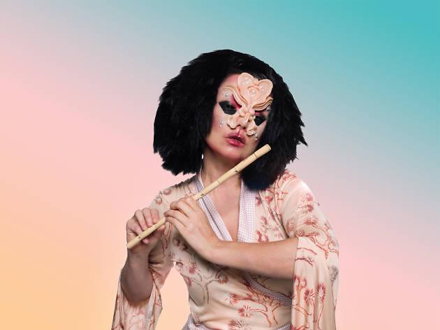 Björk presenta Cornucopia en la CDMX