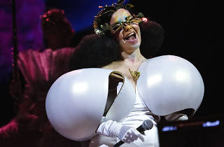 Björk en Cornucopia