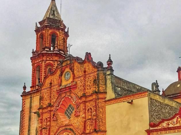 Misiones franciscanas en la sierra gorda de Querétaro