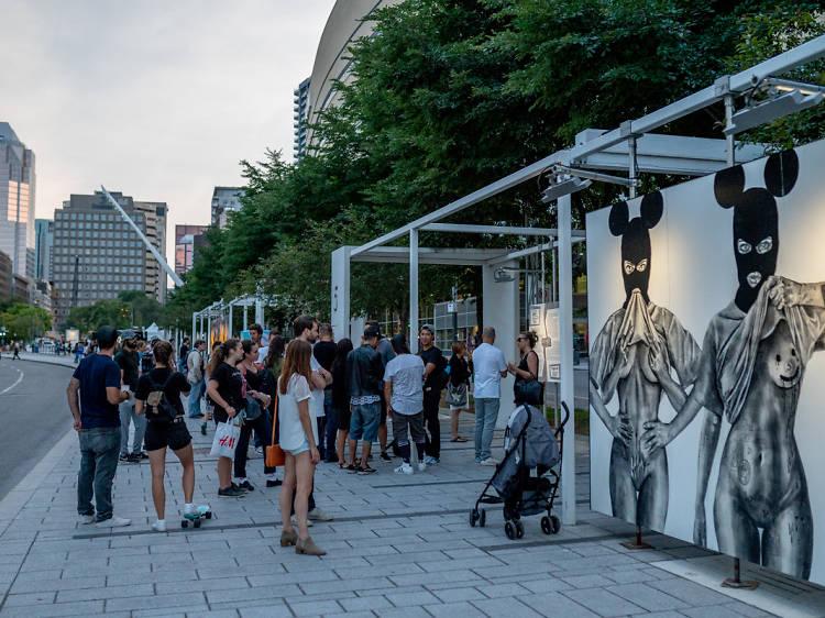 Quartier des Spectacles: Free Walking Tour (June to October)