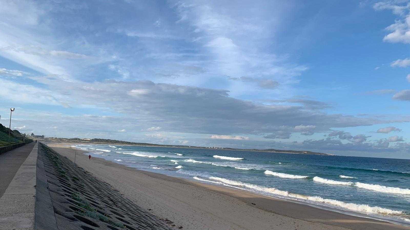 The walk to dog-friendly Greenhills Beach in Cronulla.