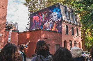 Montréal Mural Tour by Spade & Palacio Tours | MURAL festival - Dodo Ose (2017)