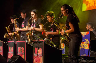Pavel Loaria Big Band Fest (Foto: Cortesía Auditorio Nacional/ Edgar Rubio)