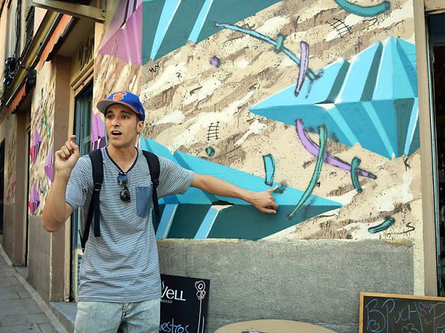 Ruta del grafitti