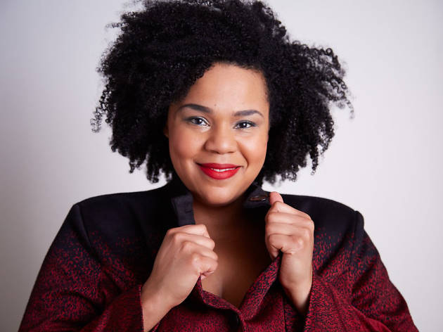 Stand-up comedian Desiree Burch