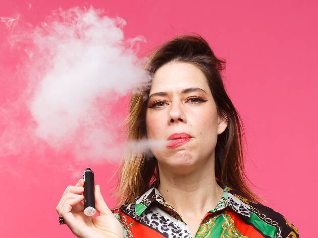 Stand-up comic Lou Sanders