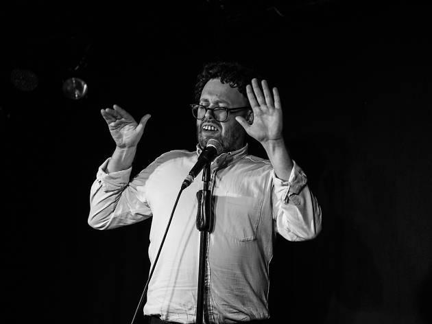 Stand-up comic John Kearns
