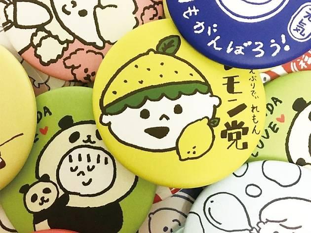 イラストレーター tanakasaki POP UP SHOP
