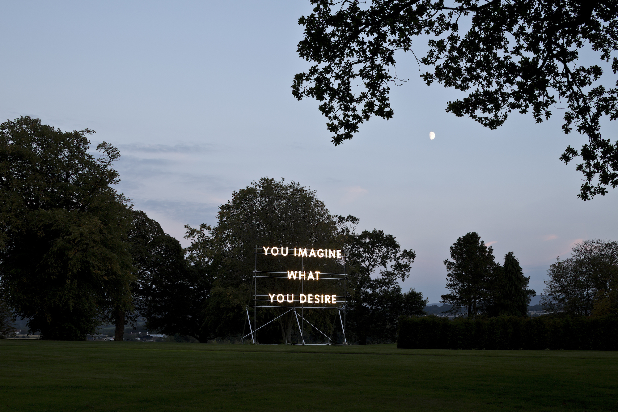 Nathan Coley, You Imagine What You Desire, 201