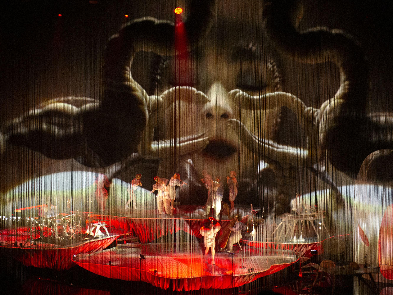 Cornucopia de Björk en vivo
