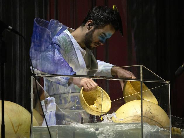 Manu Delago, el percusionista de Björk en Cornucopia