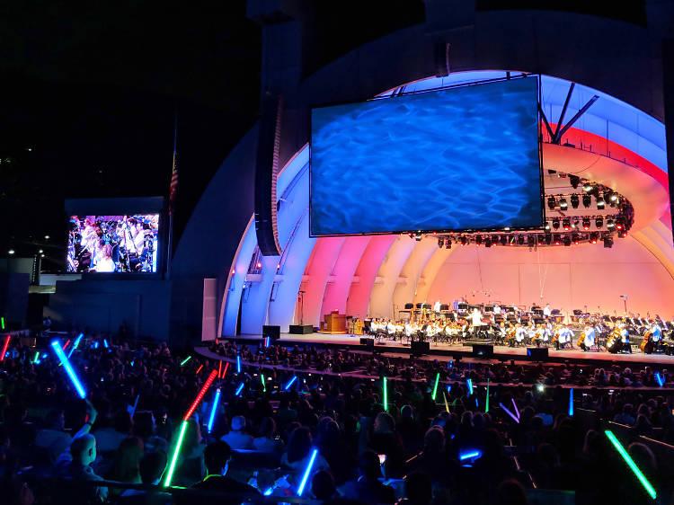 Picnic at the Hollywood Bowl
