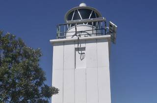 Cape Baily Lighthouse in the Kama Botany Bay National Park.