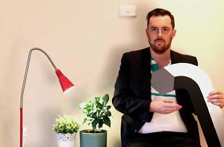 Kieran Bullock builds IKEA furniture Melbourne Fringe 2019 supplied