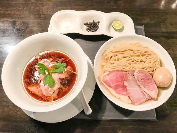 東京、昆布水つけ麺 13選