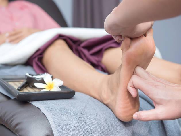Masajes para manos y pies es una experiencia de Wishbird