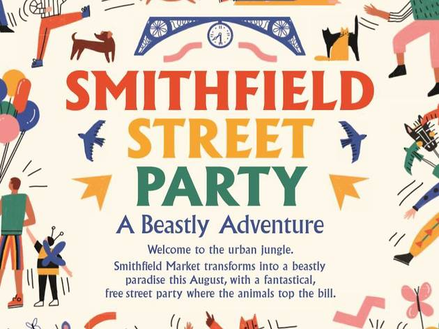 Smithfield Street Party: A Beastly Adventure
