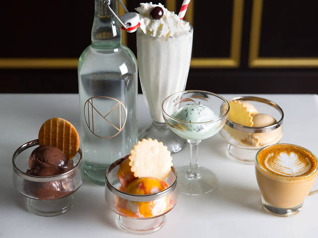 Ice Cream Parlor Pop-Up at the NoMad