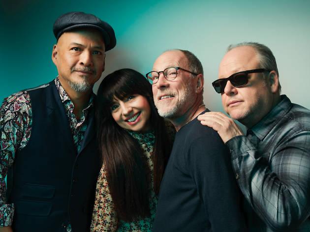 Press shot of band Pixies
