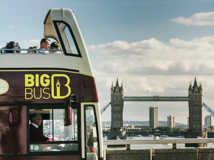 Free hop-on, hop-off bus tour