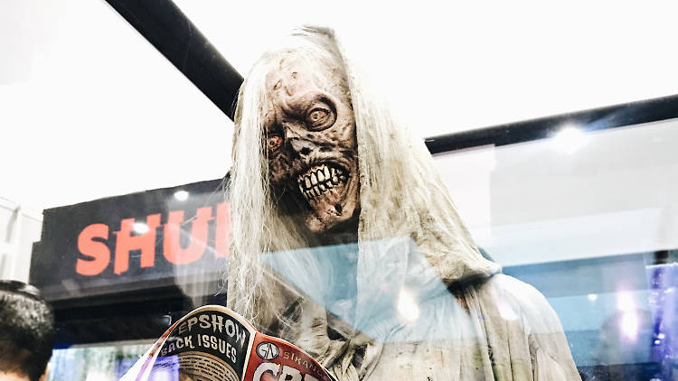 Creepshow The Creep maze at Universal Studios Halloween Horror Nights