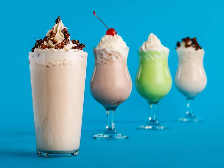 Sip a boozy adult milkshake