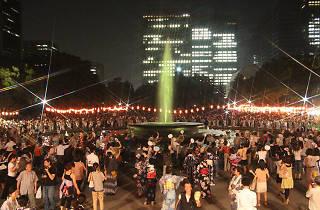 日比谷公園丸の内音頭大盆踊り大会