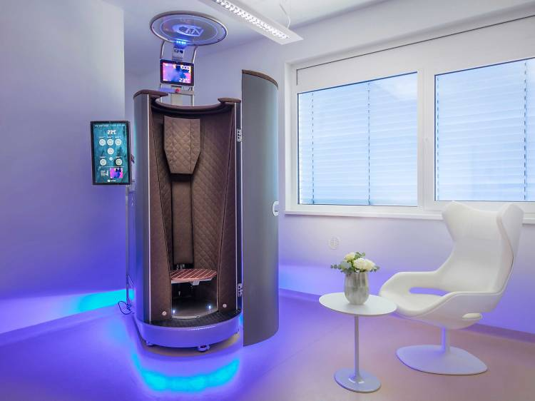 Cool in the Cryochamber at the Bellevue Spa Clinic