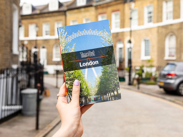Time Out London City Guide book, 2019 edition