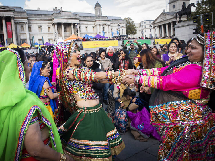 Join London's biggest and brightest Diwali celebration