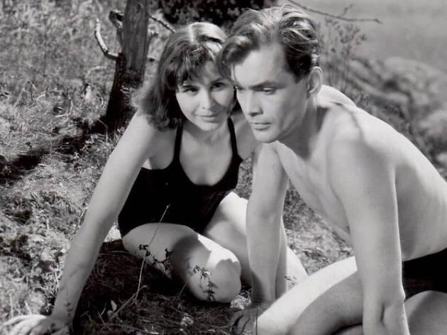 A still from the film 'Summer Interlude'