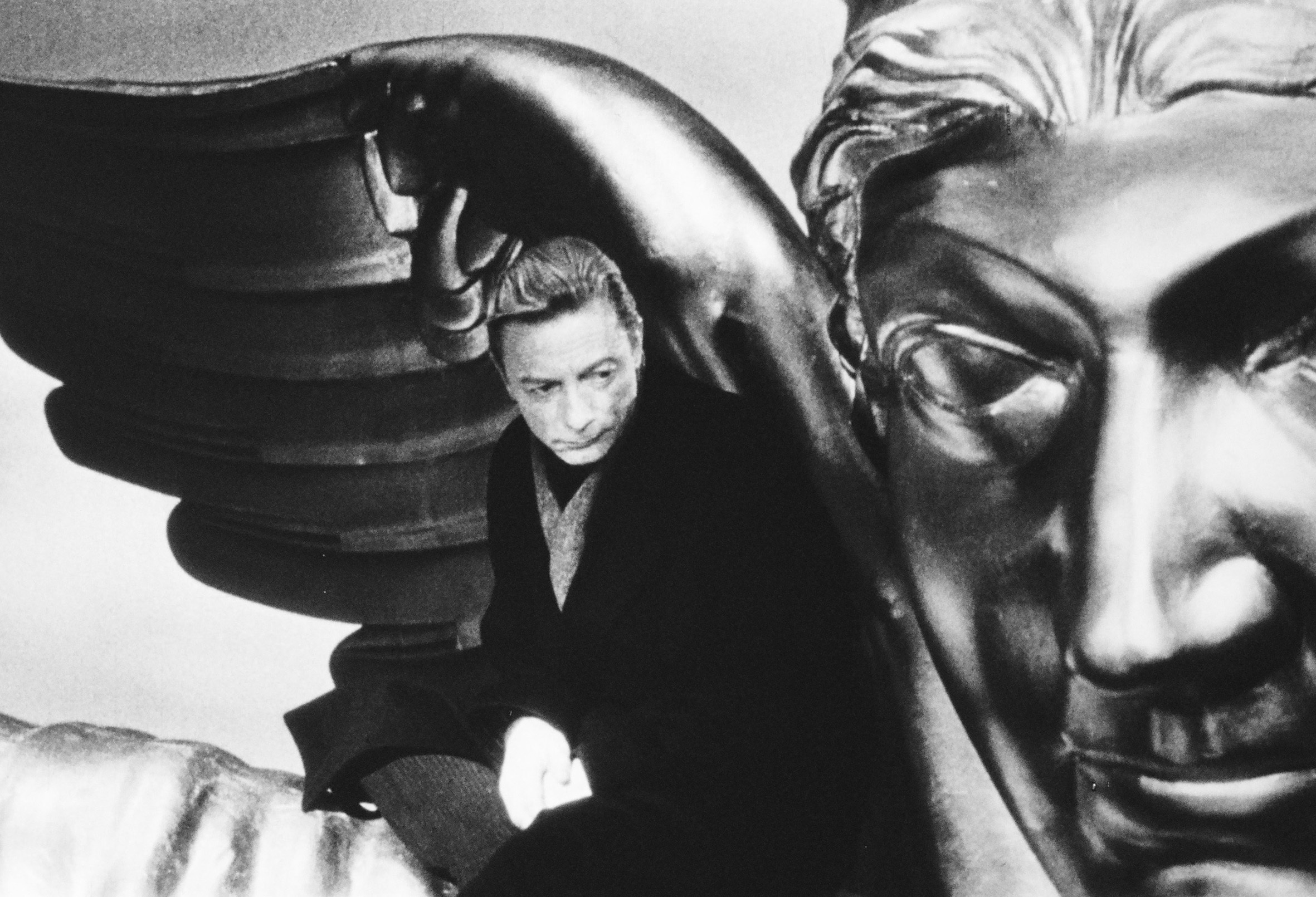 A still from the film 'Wings of Desire'