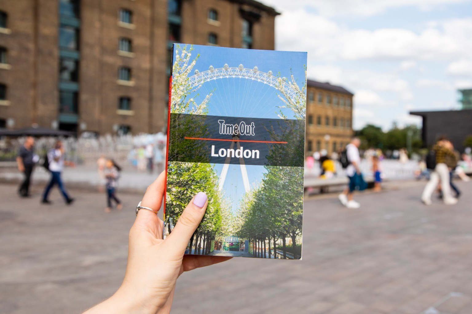 Travelling to London? You can read Time Out (in book form!) to find out where to go