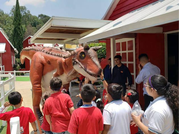 Dinosaurios Las Américas (Foto: Cortesía Granja las Américas)