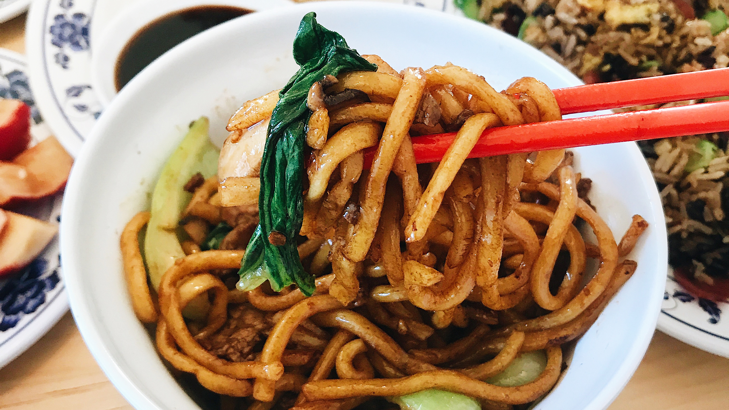 Woon Kitchen Chinese noodles Los Angeles