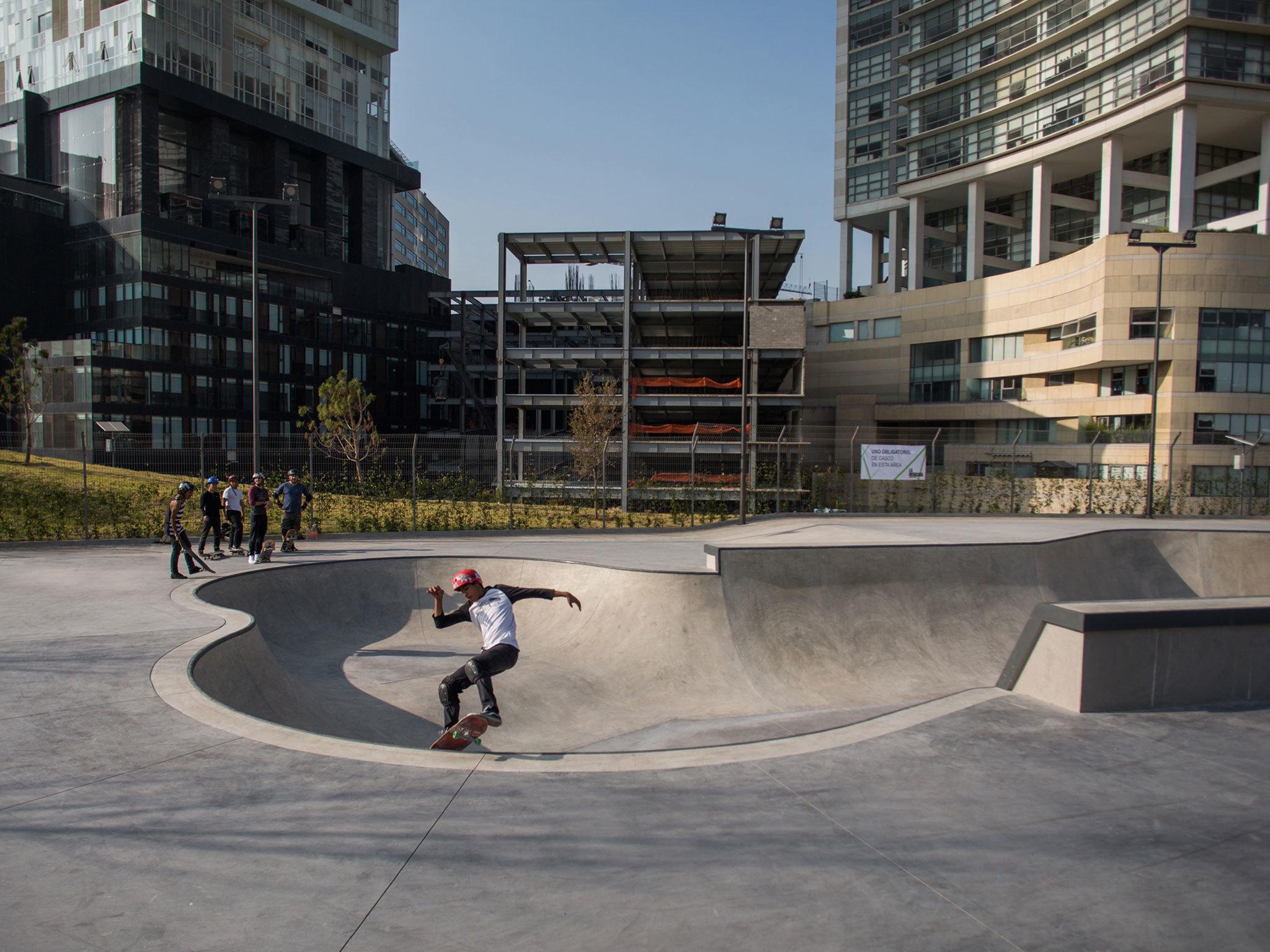 Skatepark del Parque La Mexicana en Santa Fe
