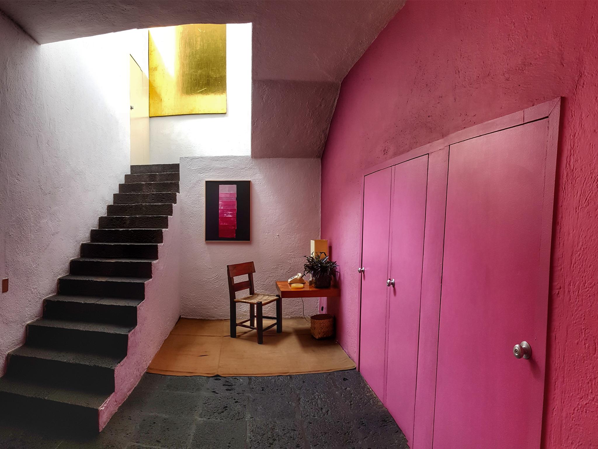 Interior de la Casa Estudio Luis Barrgán