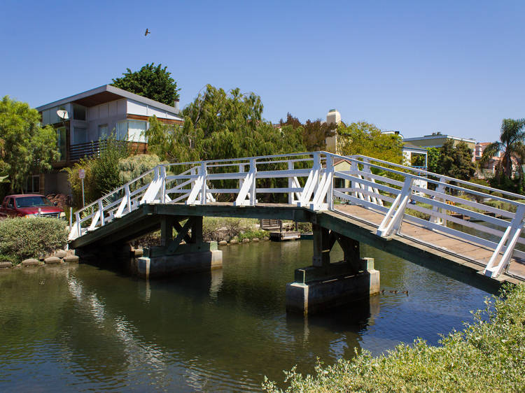 Stroll the Venice Canals
