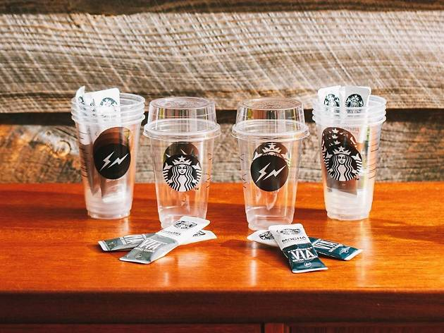 Cult streetwear label Fragment Design releases limited edition Starbucks cups