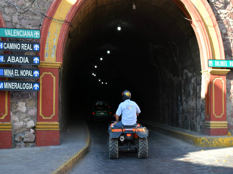 Cuatrimotos por Guanajuato Capital