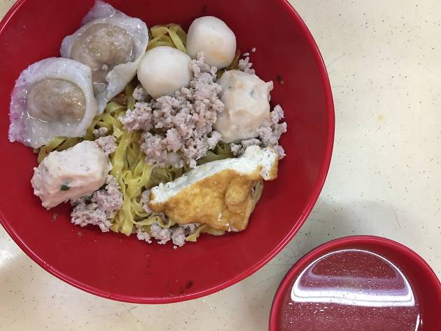 Finest Songkee's Cusine fishball noodles
