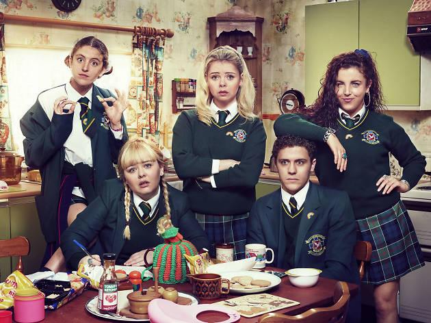 Derry Girls, la serie de Irlanda en Netflix