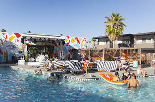 Taco Bell Hotel in Palm Springs California