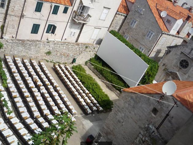 Dubrovnik outdoor cinema