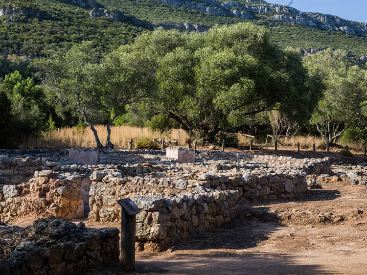 Estação arqueológica do Creiro