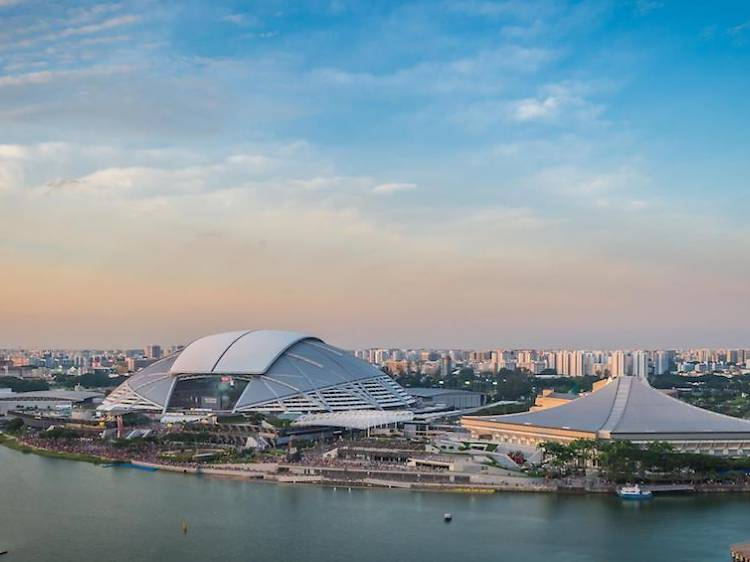 Get fit at Singapore Sports Hub
