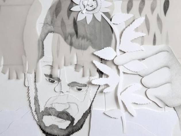 Autorretrato en Interior. Guillermo Peñalver