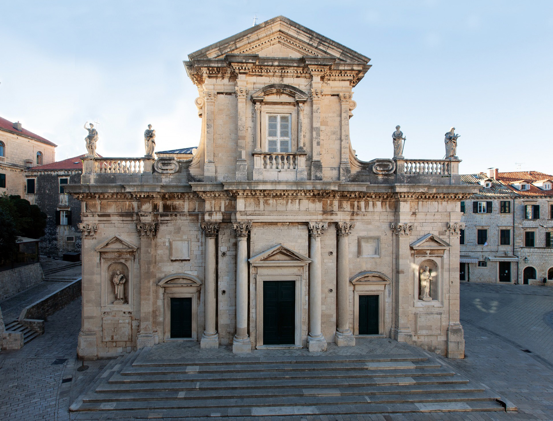 Dubrovnik Cathedral Attractions In Dubrovnik Croatia