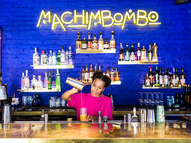 Bares, Cocktails, Machimbombo