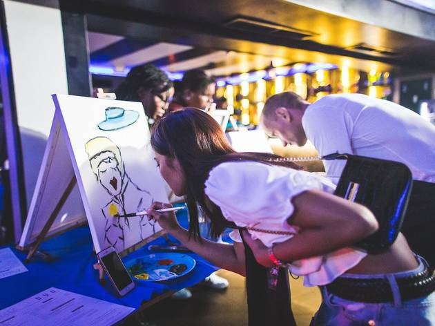 Exclusive tickets to Party n Paint at Duo